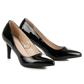Vinceza Black patented pumps 6