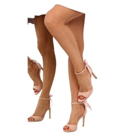 Sandals on a pink stiletto heel Z921-7SA-2 pink 8