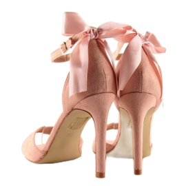 Sandals on a pink stiletto heel Z921-7SA-2 pink 6