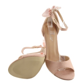 Sandals on a pink stiletto heel Z921-7SA-2 pink 1