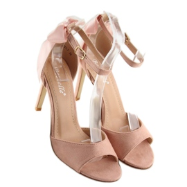Sandals on a pink stiletto heel Z921-7SA-2 pink 2