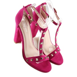 Sandals on the fuchsia A03 fuchsia pink 5