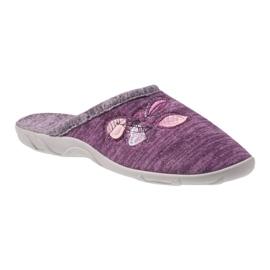 Befado colorful women's shoes pu 235D152 violet 1
