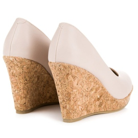 Pumps On Wedge VICES brown 1
