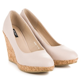 Pumps On Wedge VICES brown 2
