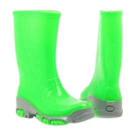 Galoshes with silver ions Ren But green 3