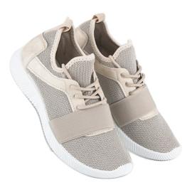 Beige slip-on footwear brown 3