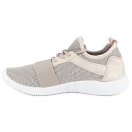 Beige slip-on footwear brown 1
