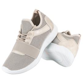 Beige slip-on footwear brown 2