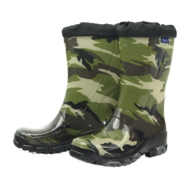 Wellington boots with silver ions Ren But black brown green 3