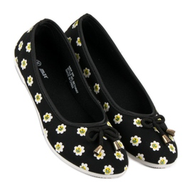 Material Ballerina In Flowers black 5