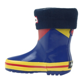 American Club American rubber boots children sock insole brown blue yellow red 2