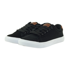 American Club American sneakers sneakers men's shoes black brown 3