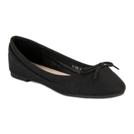 Lucky Shoes Black ballerinas 3