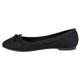 Lucky Shoes Black ballerinas 4