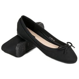 Lucky Shoes Black ballerinas 5