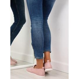 Pink slip-on sneakers LA08P Nude 2