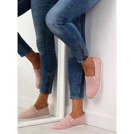 Pink slip-on sneakers LA08P Nude 1
