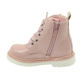 American Club American ankle boots boots children's shoes 1424 pink 2
