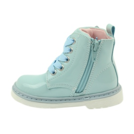 American Club American ankle boots boots children's shoes 1424 blue 2