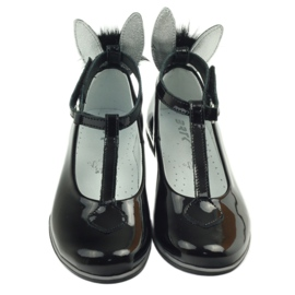 Ballerinas down with ears. Bartek 45025 black 4