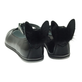 Ballerinas down with ears. Bartek 45025 black 3