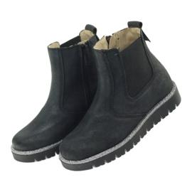 Girls boots Ren But 4389 black 4