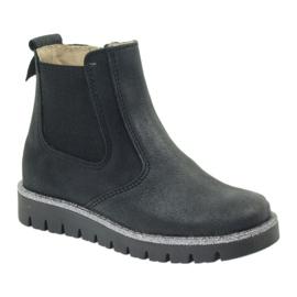 Girls boots Ren But 4389 black 1