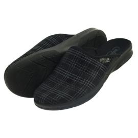 Befado men's shoes slippers 548m011 slippers black 4