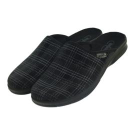 Befado men's shoes slippers 548m011 slippers black 3