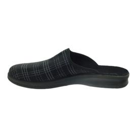 Befado men's shoes slippers 548m011 slippers black 2
