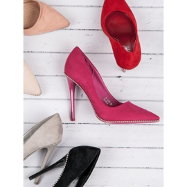 Seastar Fashionable Fuchsia Pins pink 7