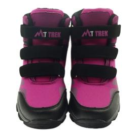 Mttrek Velcro booties MT TREK 011 fuchsia 3