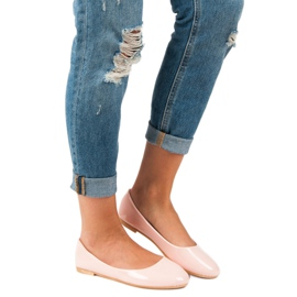 Top Shoes Lacquered ballerinas pink 7