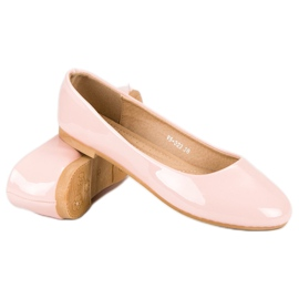 Top Shoes Lacquered ballerinas pink 5