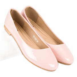 Top Shoes Lacquered ballerinas pink 6