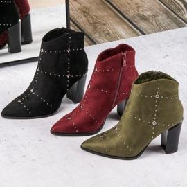 Kylie Suede Khaki boots 5