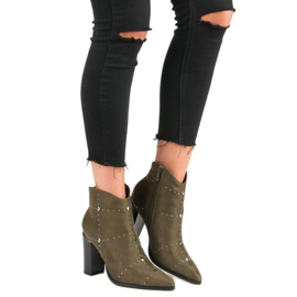 Kylie Suede Khaki boots 7