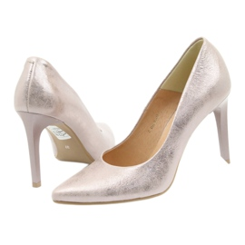 Espinto Pumps On High Heel Pearl Rose multicolored pink 4