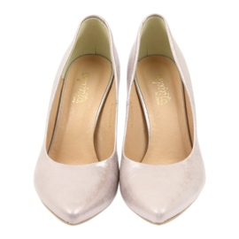 Espinto Pumps On High Heel Pearl Rose multicolored pink 3