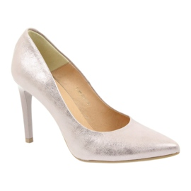 Espinto Pumps On High Heel Pearl Rose multicolored pink 1