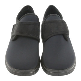 Befado Slippers Moccasins Dr. Orto Health 036d006 black 3