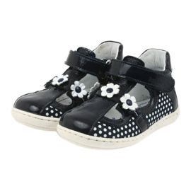 Ren But Dark blue polka dot ballerinas Ren 267 3