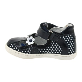 Ren But Dark blue polka dot ballerinas Ren 267 2