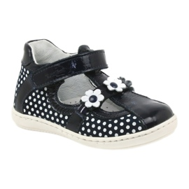 Ren But Dark blue polka dot ballerinas Ren 267 1