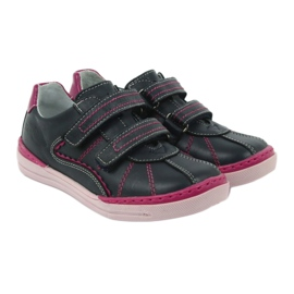Boots Children's shoes Ren But 3193 navy blue multicolored pink 3