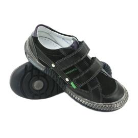 Boys' shoes Bartek 55287 black grey green 3