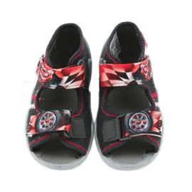 Befado children's shoes sandals 250p055 slippers red grey 4