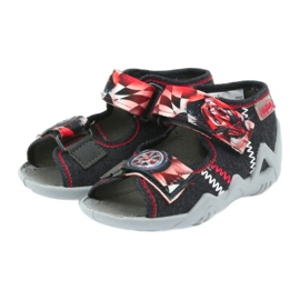 Befado children's shoes sandals 250p055 slippers red grey 3