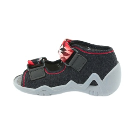 Befado children's shoes sandals 250p055 slippers red grey 2